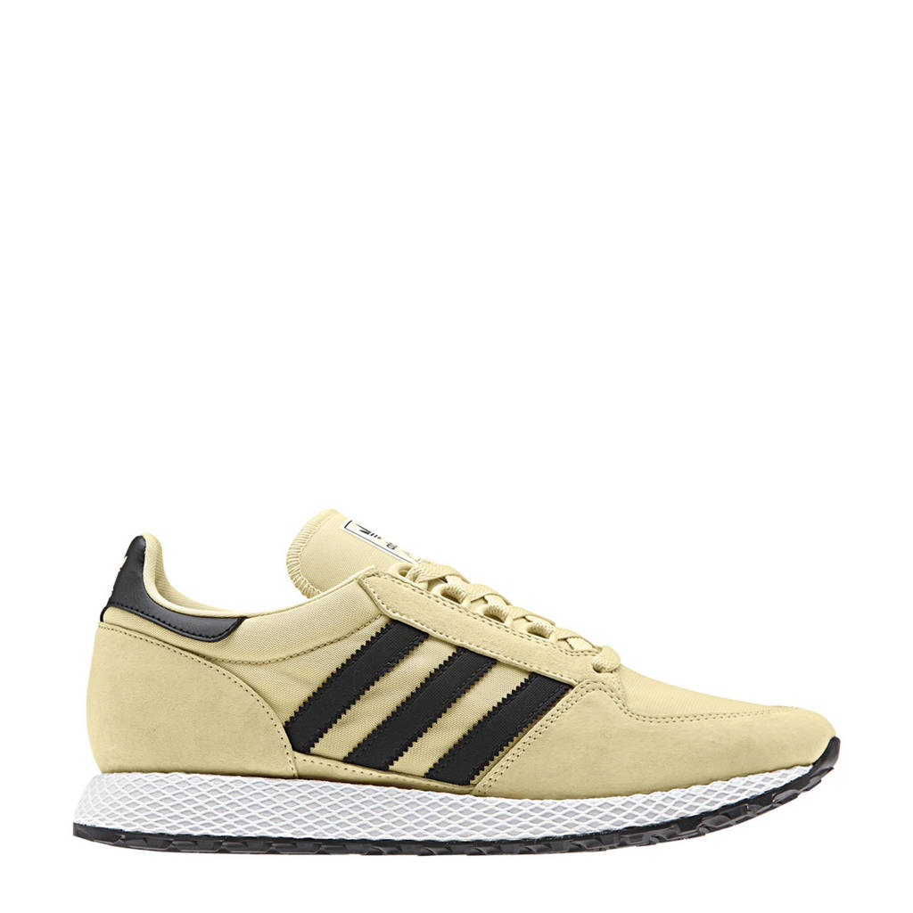adidas originals Forest Grove nubuck sneakers, Zand/zwart