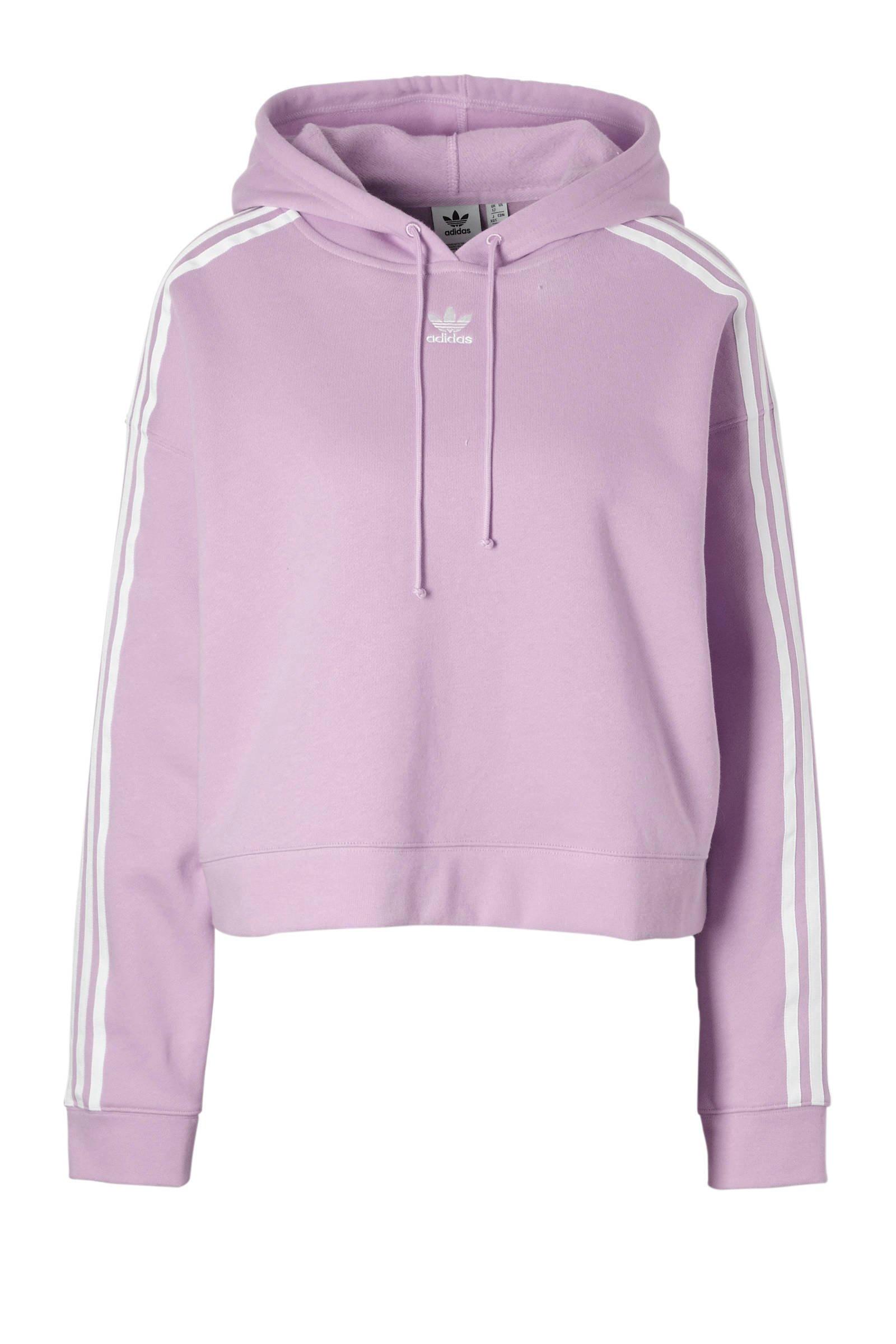 adidas Originals hoodie lila | wehkamp