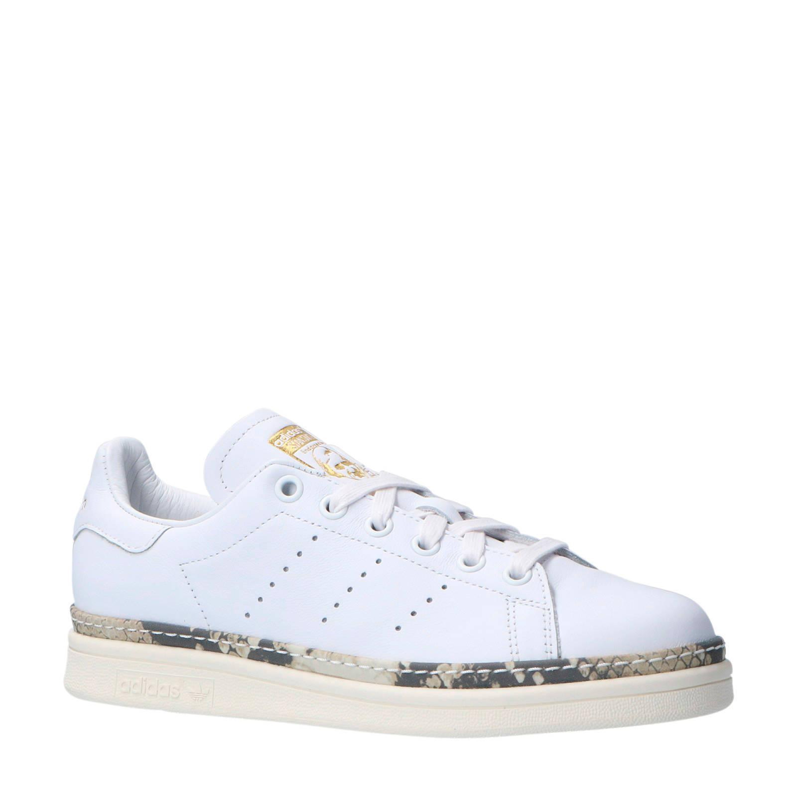 a0a4947f0d8 adidas originals Stan Smith New Bold W leren sneakers | wehkamp