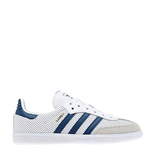adidas originals Samba OG C sneakers wit-blauw