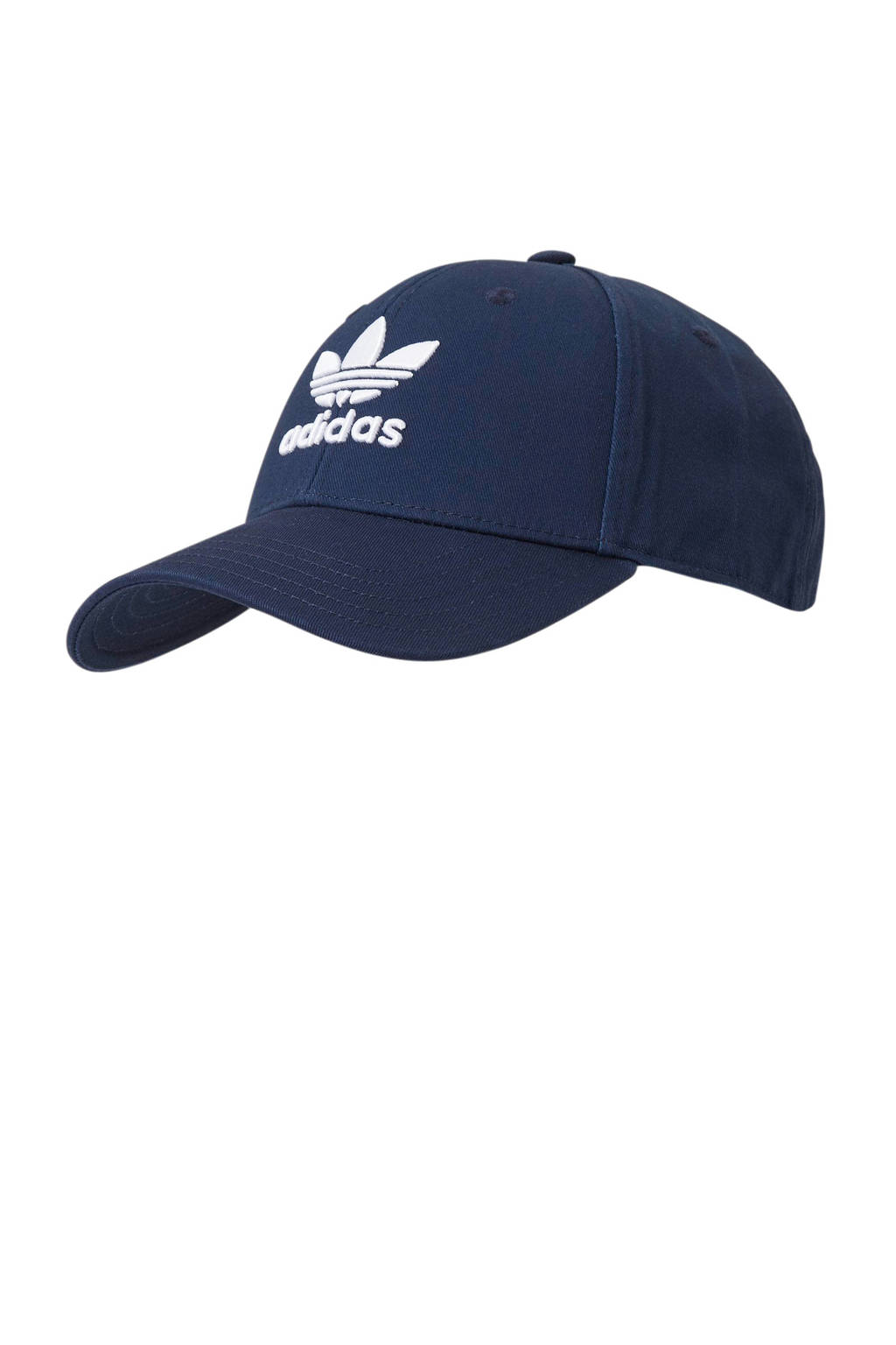 adidas Originals Adicolor baseball pet donkerrood, Donkerblauw