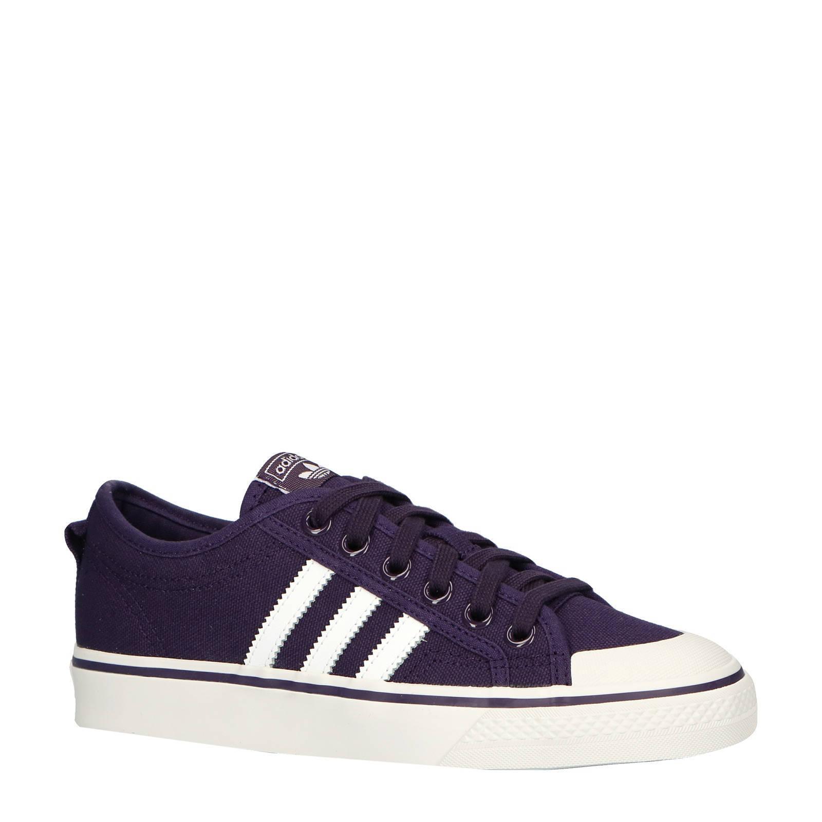 adidas originals Nizza W sneakers paars   wehkamp