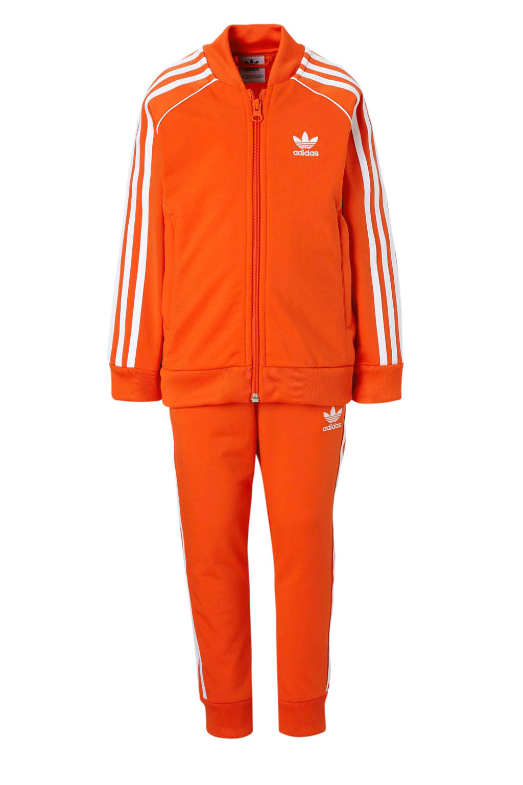 adidas originals   trainingspak oranje, Oranje