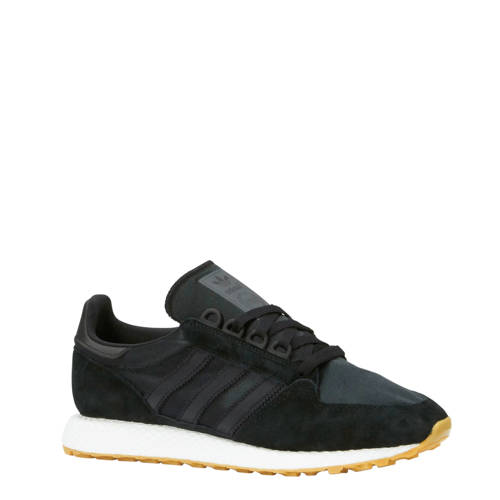 adidas originals Forest Grove suède sneakers zwart