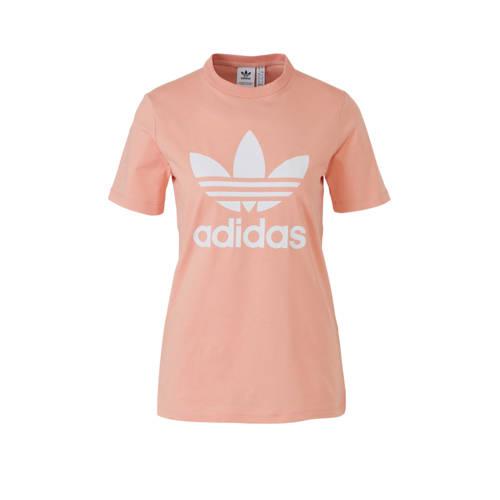 adidas originals T-shirt zalmroze