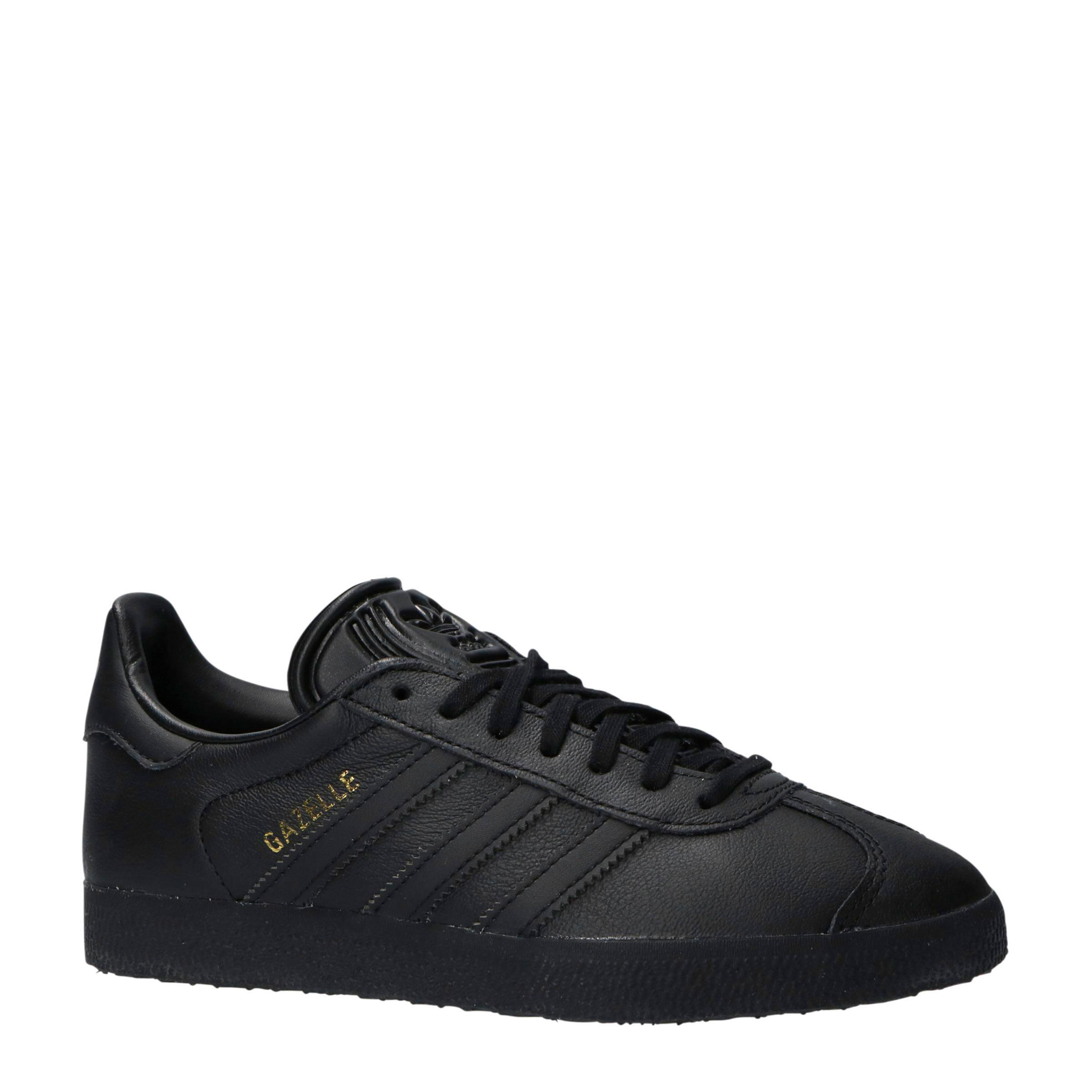 zwarte adidas gazelle dames
