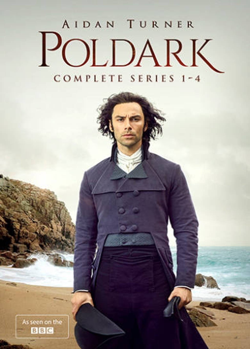 Poldark - Seizoen 1-4 (DVD)