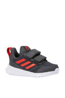 adidas performance AltaRun CF I sportschoenen grijs/rood (jongens)