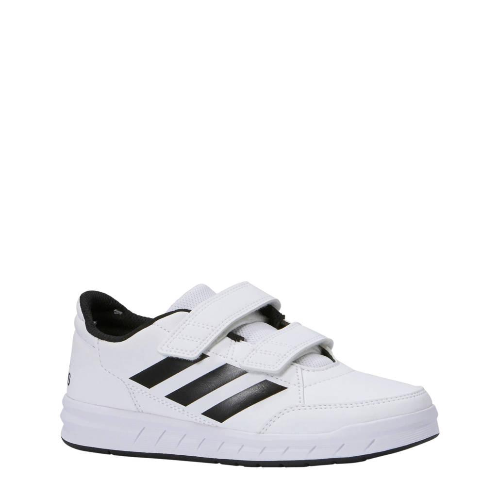 adidas   sportschoenen AltaSport CF K wit/zwart kids, Wit/zwart
