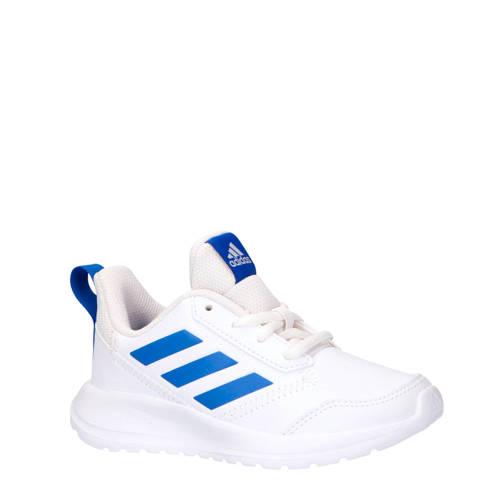 adidas performance AltaRun K sportschoenen wit-blauw