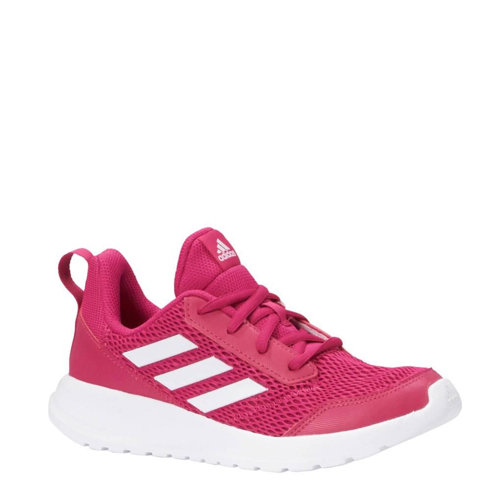 adidas performance AltaRun K sportschoenen roze/wit, Roze/wit, Veter