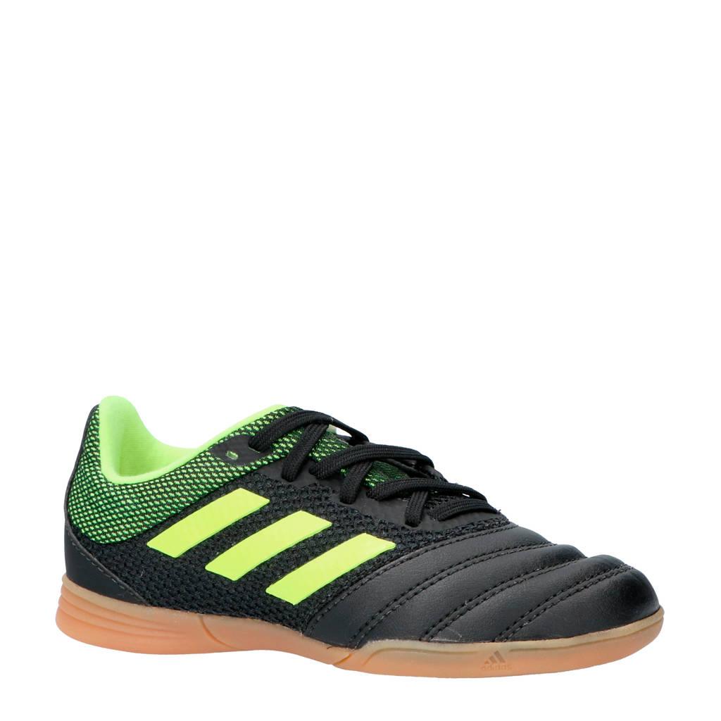 adidas performance COPA 19.3 IN SALA J zaalvoetbalschoenen, Zwart/geel