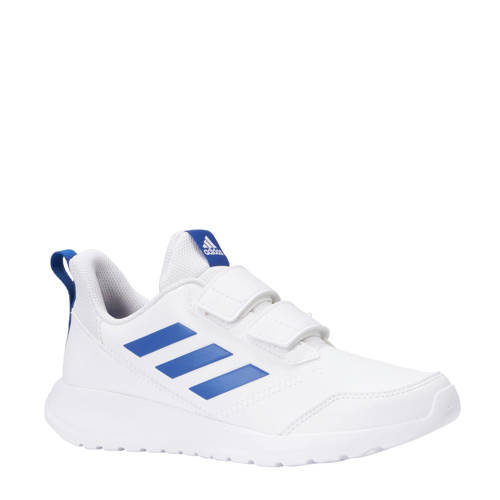 AltaRun K sportschoenen wit-blauw