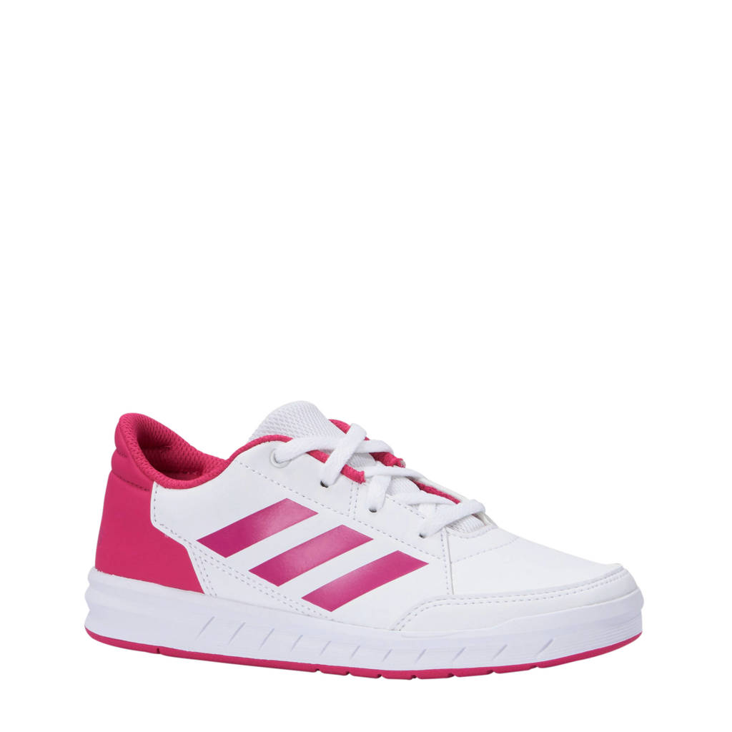 adidas   AltaSport sportschoenen wit/roze, Wit/roze