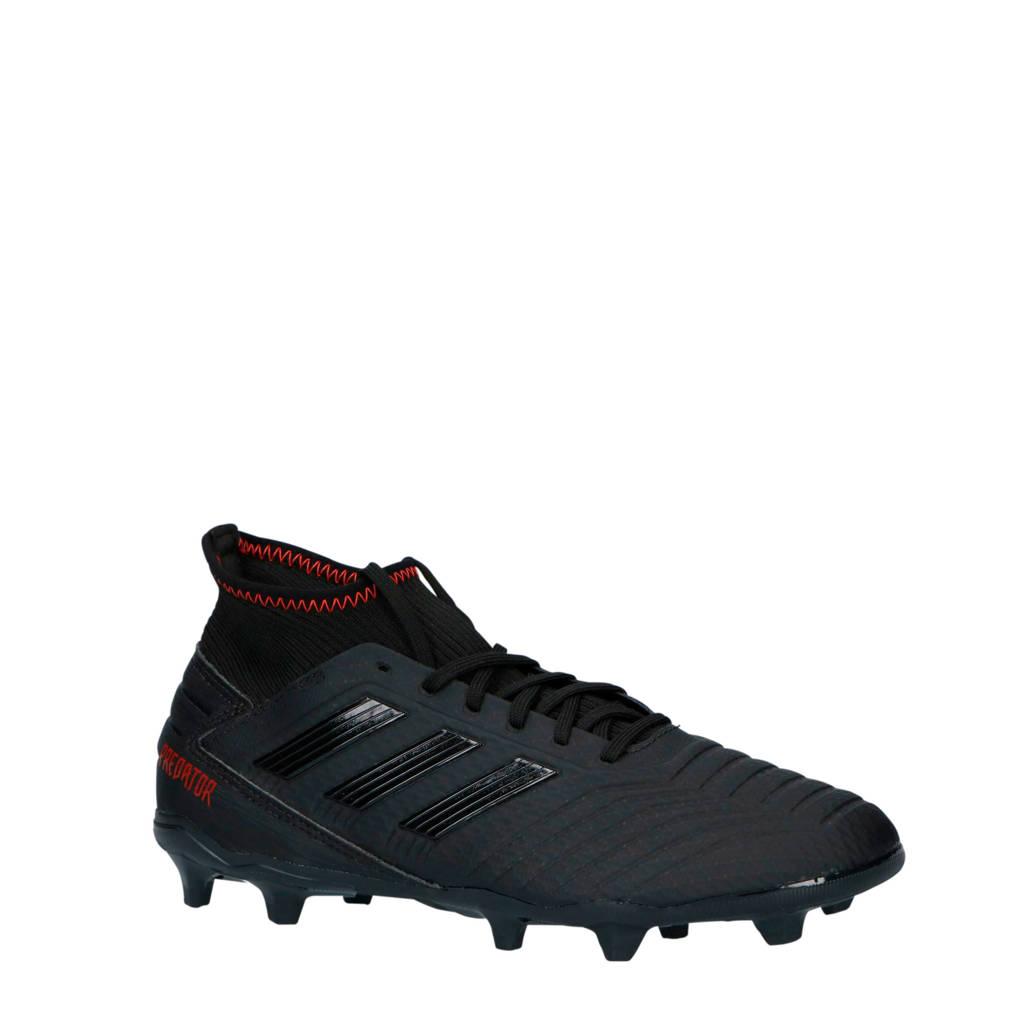 adidas performance   Predator 19.3 FG voetbalschoenen zwart, Zwart