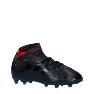 performance Nemeziz 18.3 FG voetbalschoenen zwart/blauw