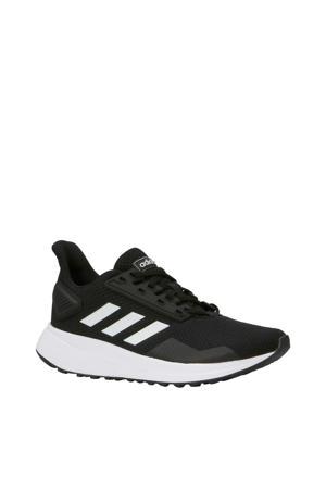 Duramo 9 K hardloopschoenen zwart/wit kids