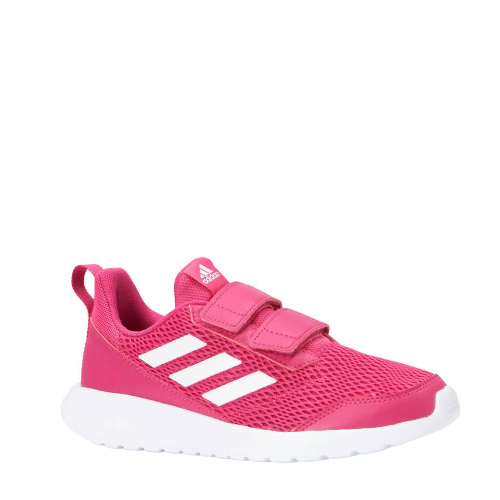 adidas performance AltaRun CF K sportschoenen roze wit  a5f01818f5c