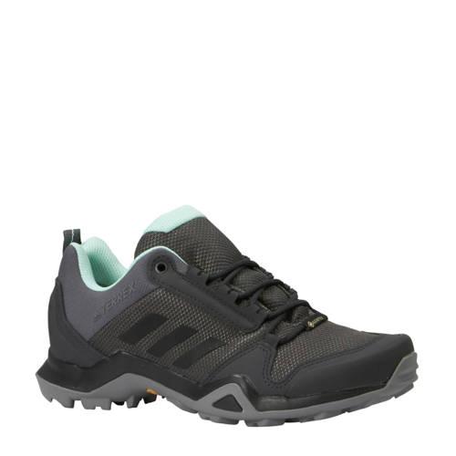 adidas performance Terrex AX3 GTX outdoor schoenen grijs-mintgroen