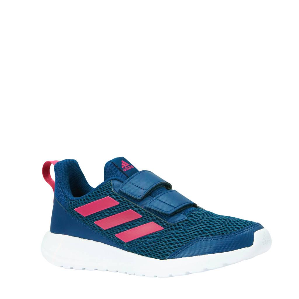 adidas performance AltaRun CF K sportschoenen blauw/roze, Blauw/roze, Klittenband