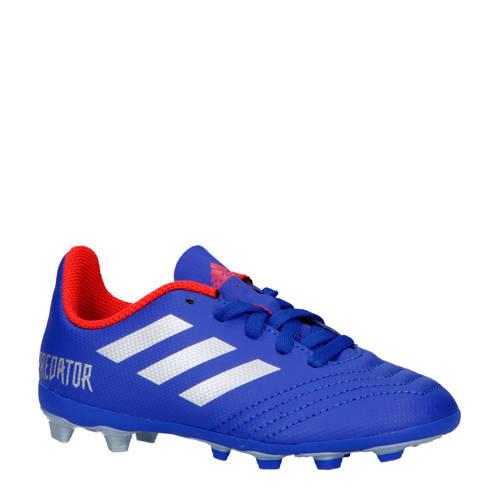 adidas performance Predator 19.4 FxG J voetbalschoenen blauw-zilver