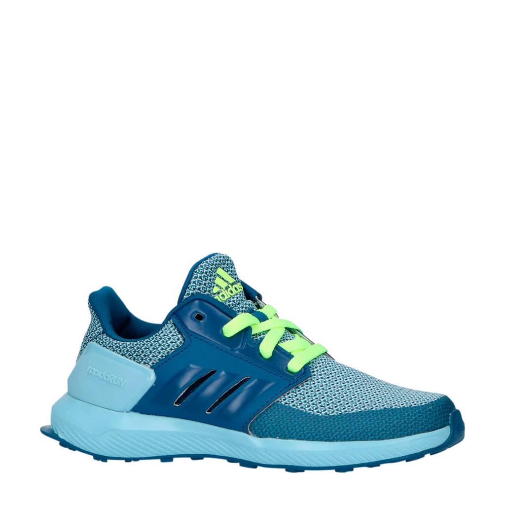 adidas performance kids RapidaRun K hardloopschoenen blauw/lichtblauw, Blauw/lichtblauw