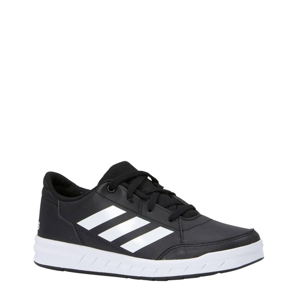 adidas Performance AltaSport K  sportschoenen zwart/wit kids, Zwart/wit