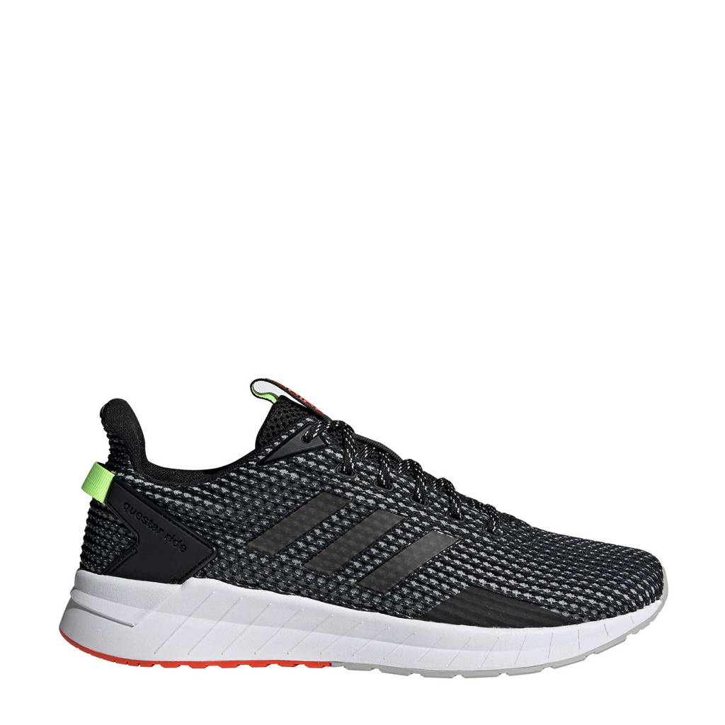 adidas Performance   Questar Ride hardloopschoenen, Zwart/wit, Heren