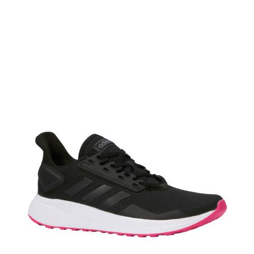 Duramo 9 hardloopschoenen zwart-roze