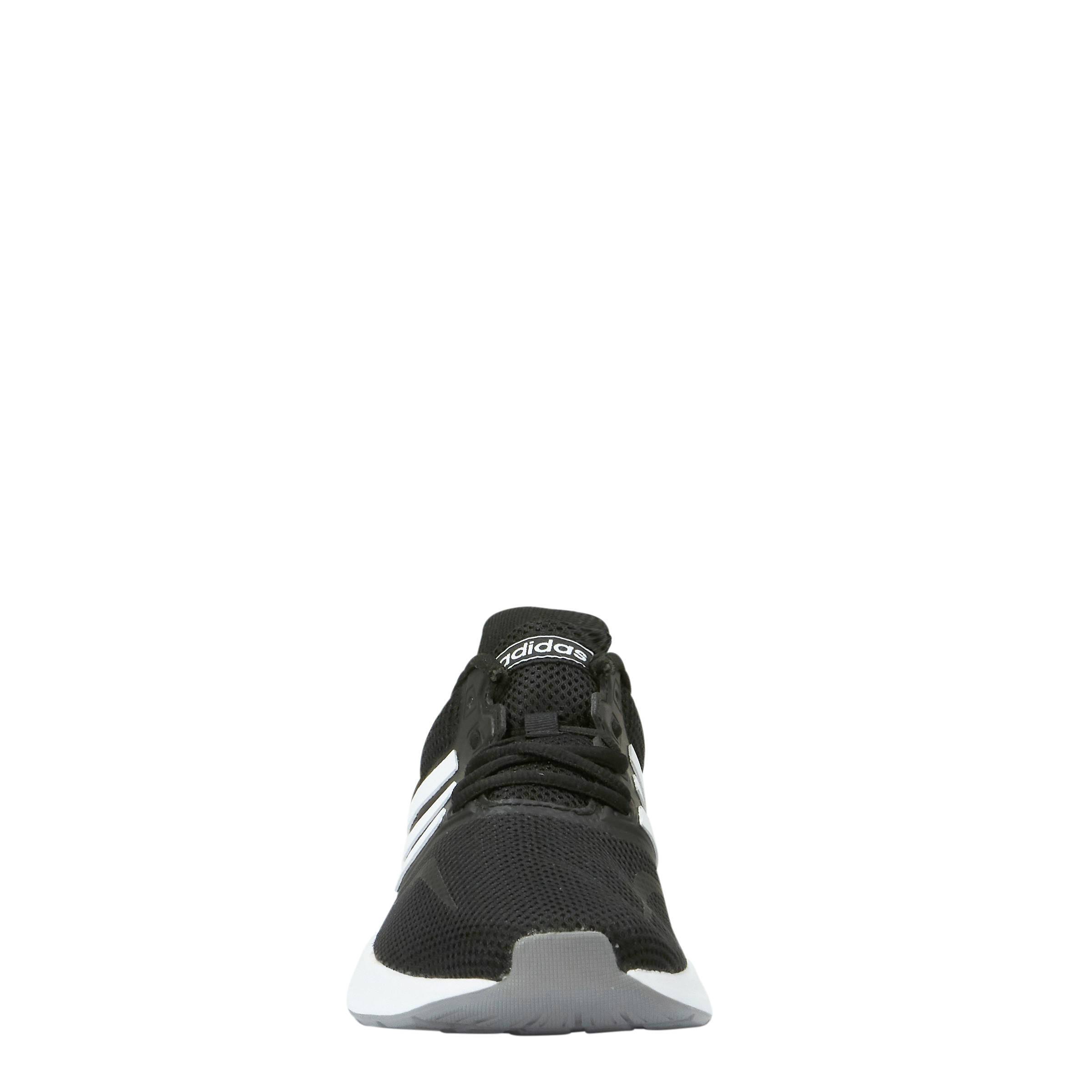 adidas Performance Runfalcon hardloopschoenen zwart/wit ...