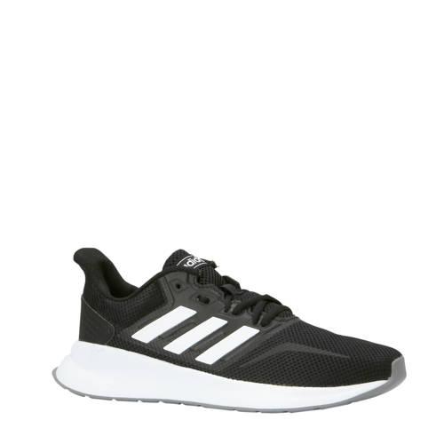 Runfalcon hardloopschoenen zwart-wit
