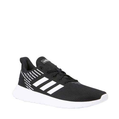 adidas performance Asweerun hardloopschoenen zwart-wit