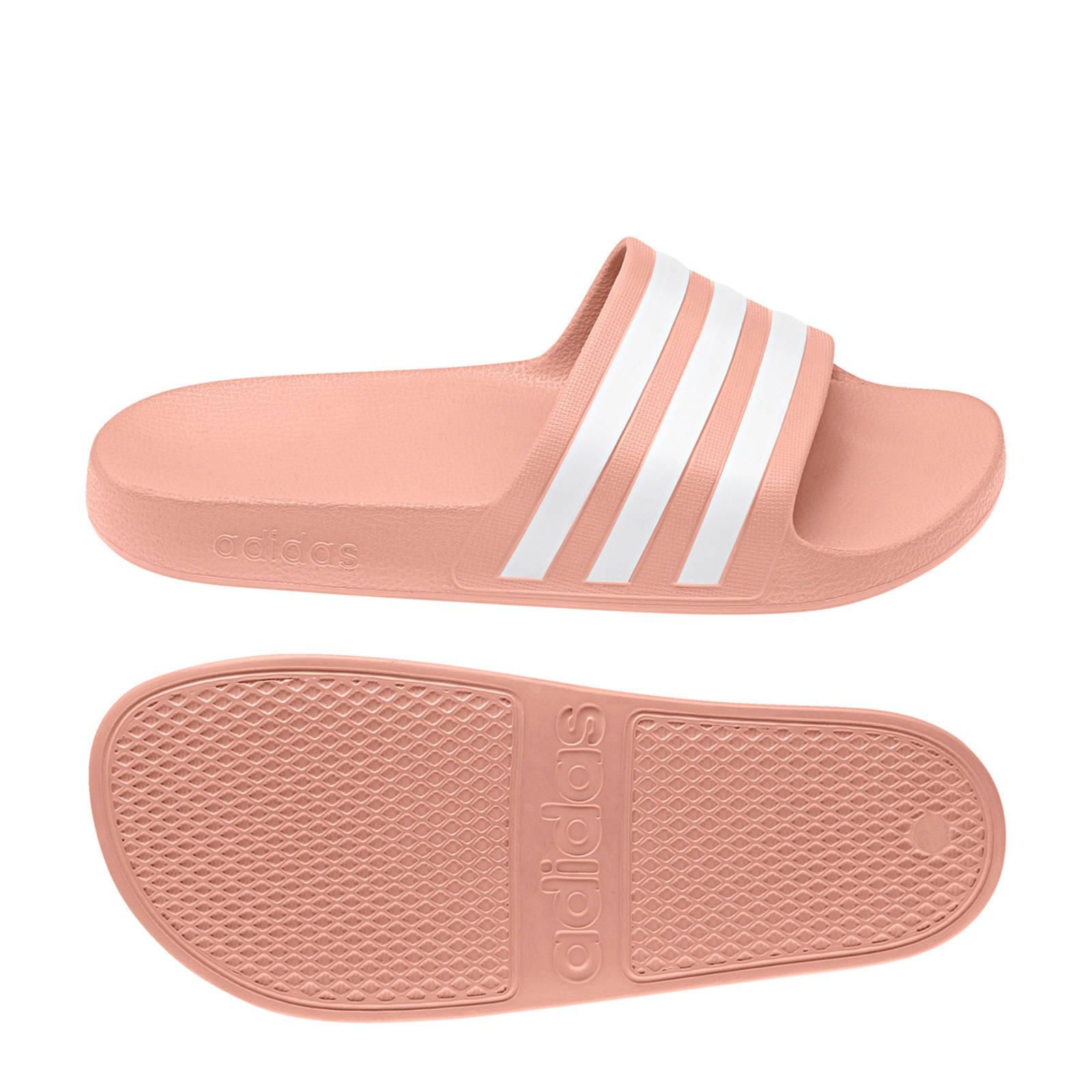 adidas performance Adilette adilette aqua badslippers roze