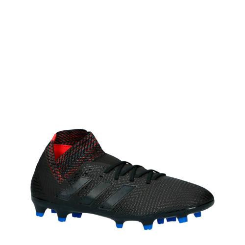 adidas performance Nemeziz 18.3 FG voetbalschoenen zwart-blauw