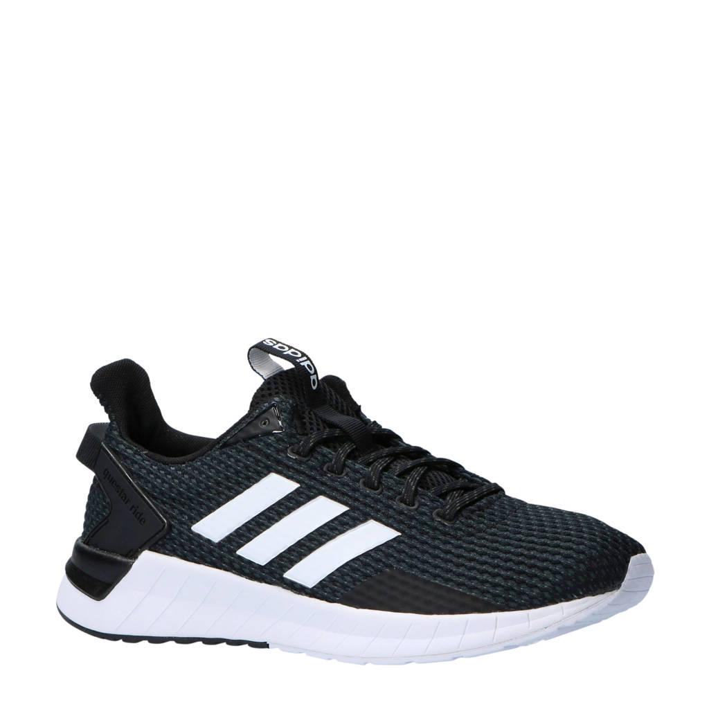 adidas performance   Questar Ride hardloopschoenen zwart/grijs/wit, Zwart/grijs/wit