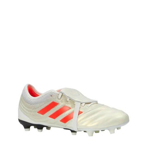 voetbalschoenen Copa Gloro 19.2 FG wit-rood