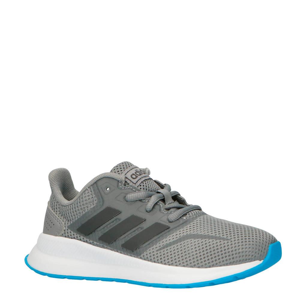 adidas performance kids Runfalcon hardloopschoenen grijs, Grijs