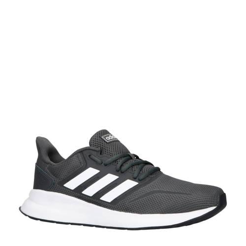 adidas performance Runfalcon hardloopschoenen grijs-wit