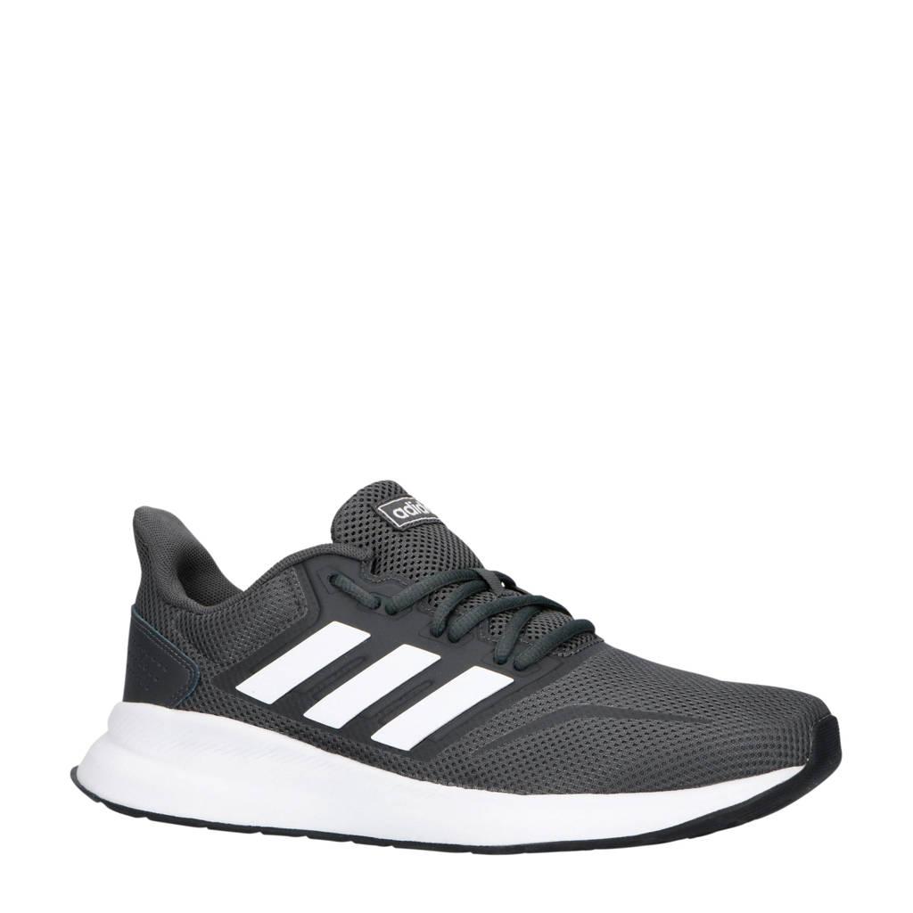 adidas performance Runfalcon hardloopschoenen grijs/wit, Grijs/wit