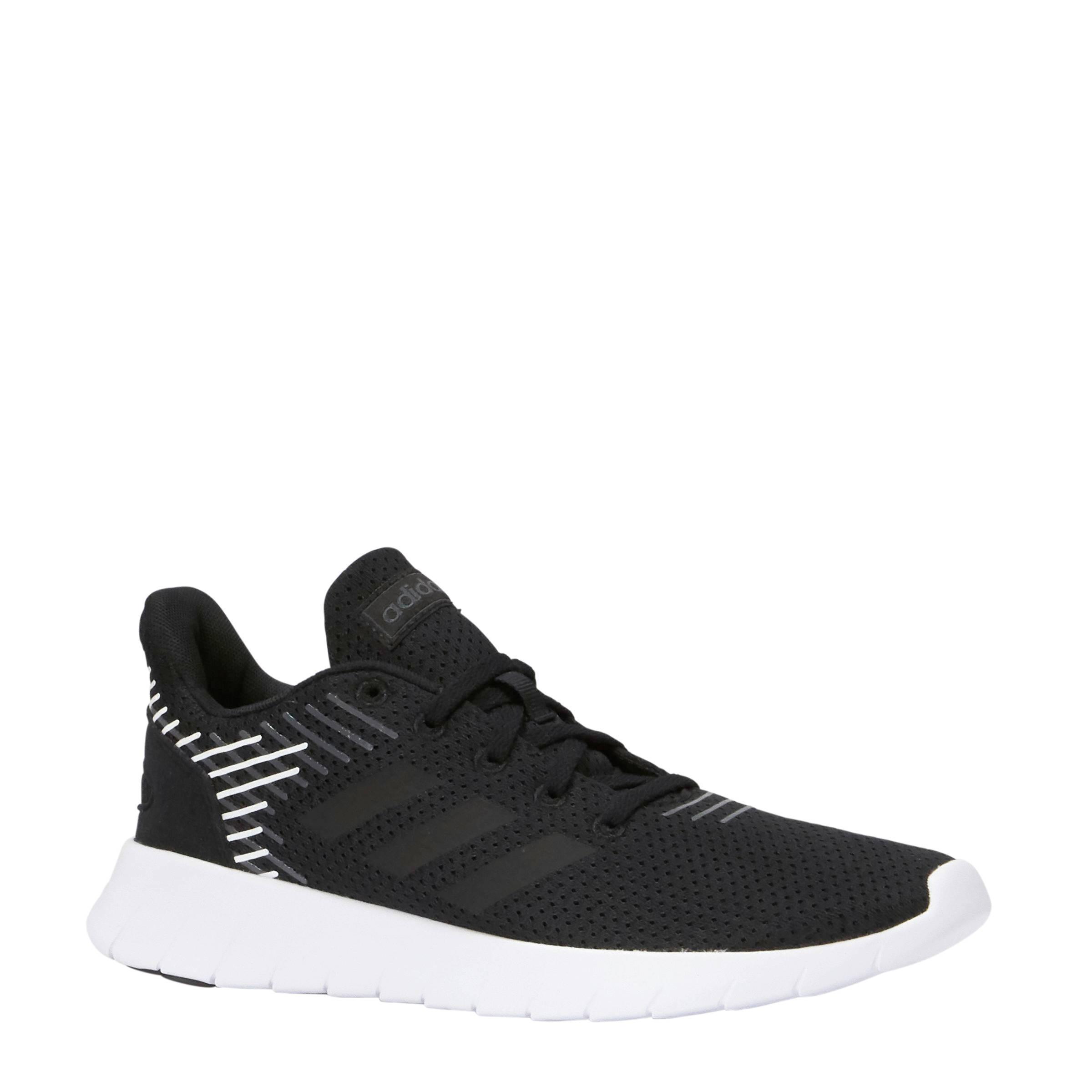 adidas Performance Asweerun hardloopschoenen zwart/wit | wehkamp