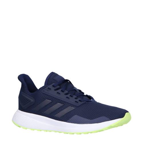 adidas performance Duramo 9 hardloopschoenen donkerblauw