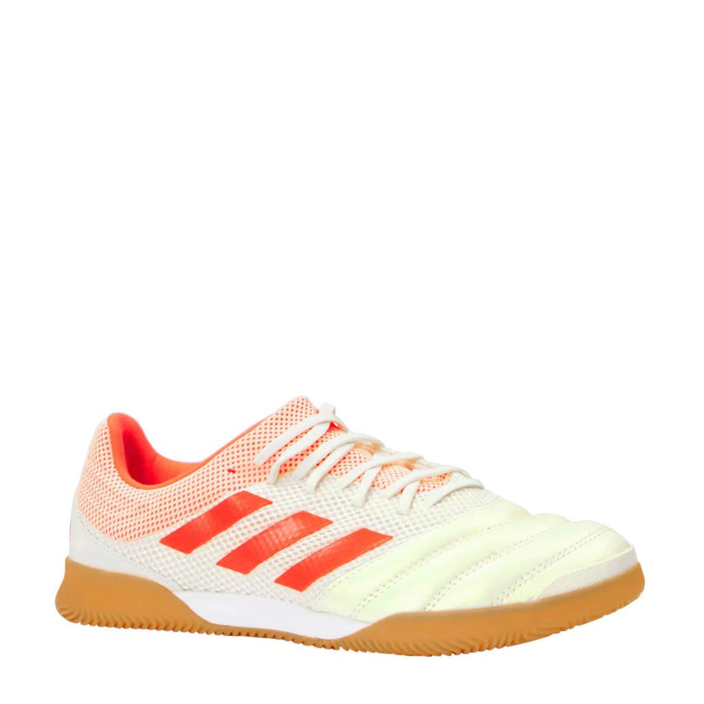 adidas performance COPA 19.3 IN SALA zaalvoetbalschoenen, Wit/roze