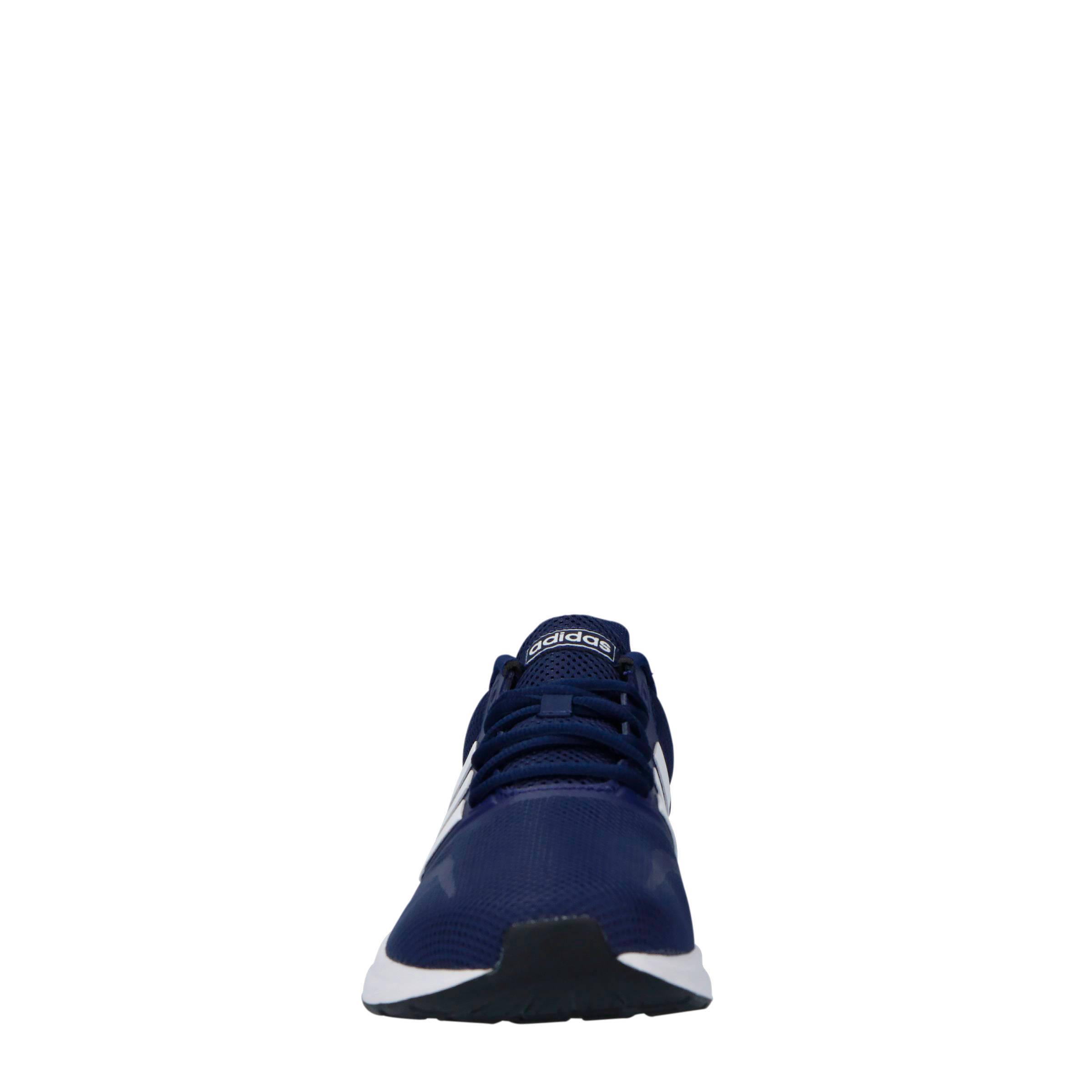 adidas Performance Runfalcon hardloopschoenen blauwwit