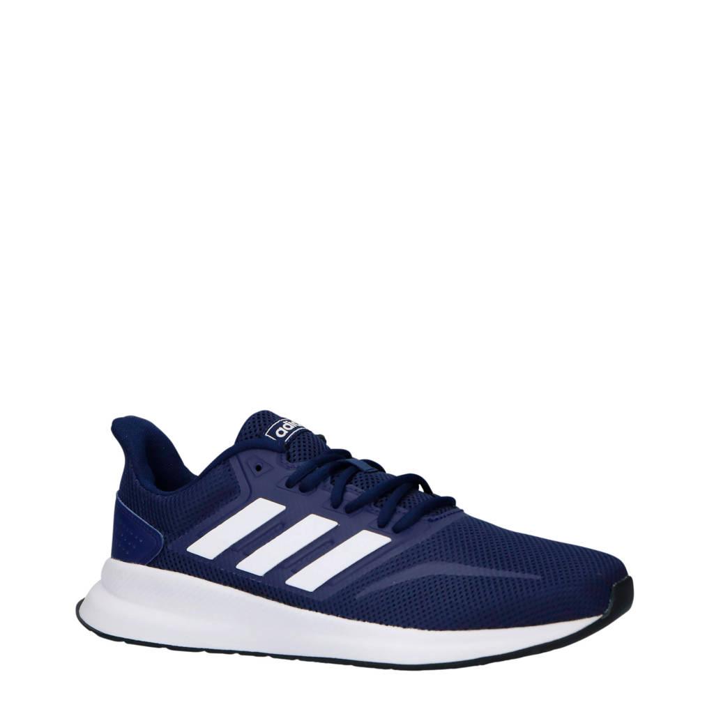 adidas performance Runfalcon hardloopschoenen blauw/wit, Blauw/wit