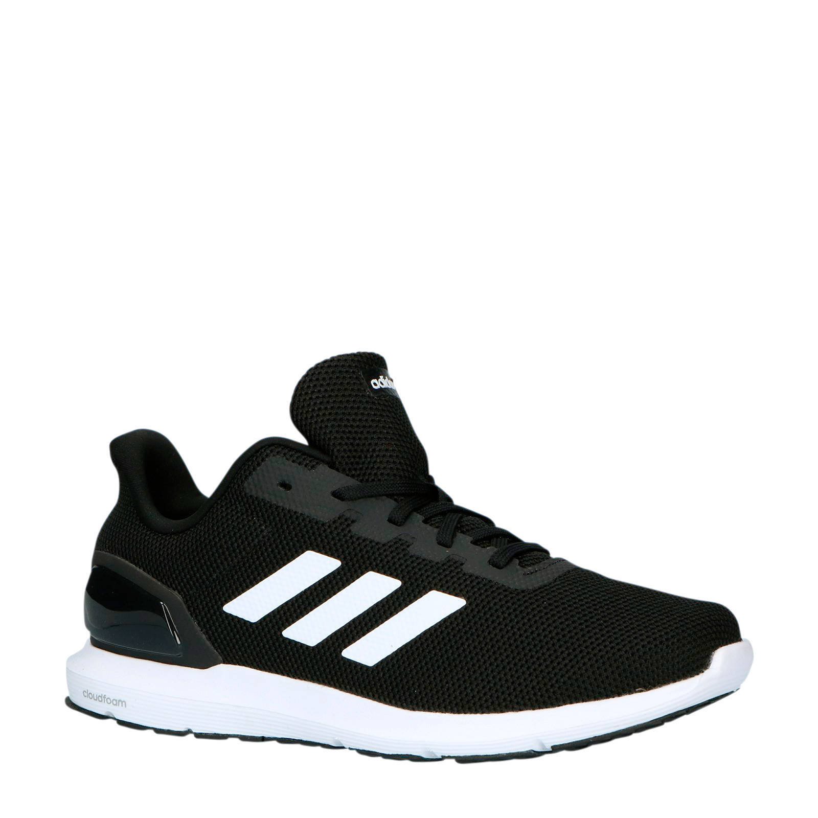 adidas Performance Cosmic 2 hardloopschoenen zwart/wit   wehkamp