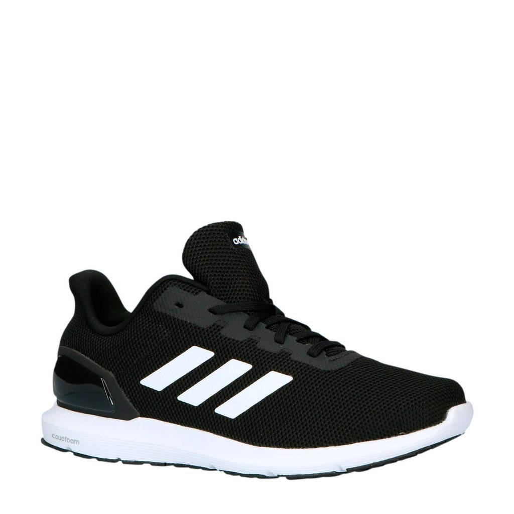 adidas performance   Cosmic 2 hardloopschoenen zwart/wit, Zwart/wit