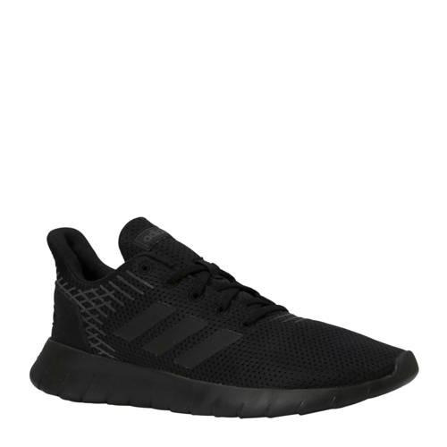 adidas performance Asweerun hardloopschoenen zwart-grijs