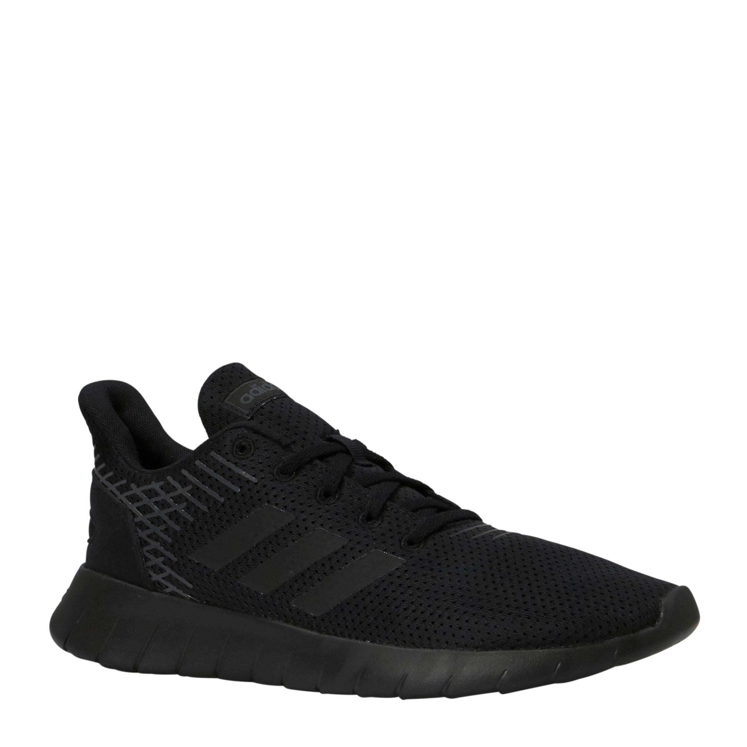 Asweerun hardloopschoenen zwart/grijs
