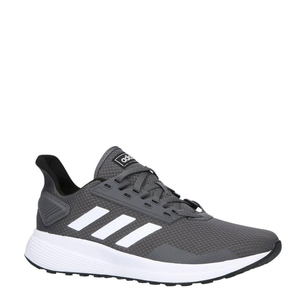 adidas performance   Duramo 9 hardloopschoenen grijs/wit, Grijs/wit