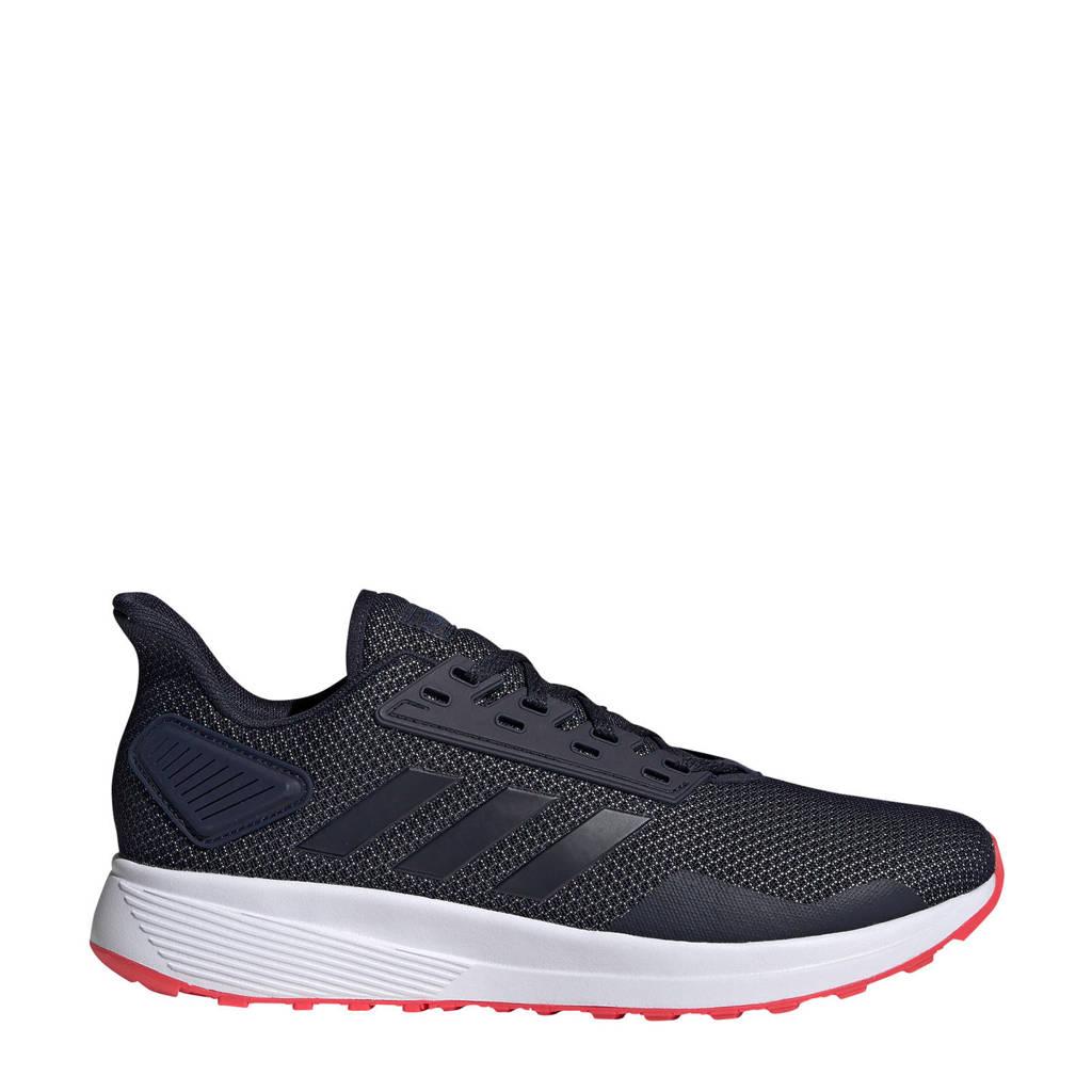 adidas performance   Duramo 9 hardloopschoenen zwart/rood, Zwart